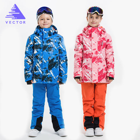 VECTOR Unisex Snowboarding Clothing Set- Jacket & Pants,   - Found Lost Outdoors