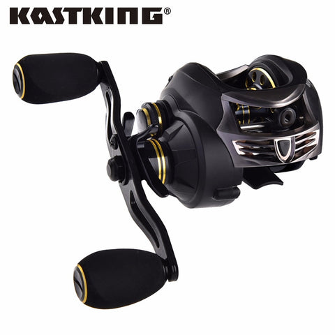 KastKing 7.0:1 Lightweight Carbon Body Fishing Reel,   - Found Lost Outdoors