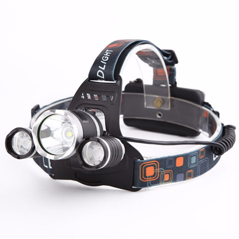 Waterproof LED Headlight | Rechargeable | 10000 Lumens,  Survival - Found Lost Outdoors