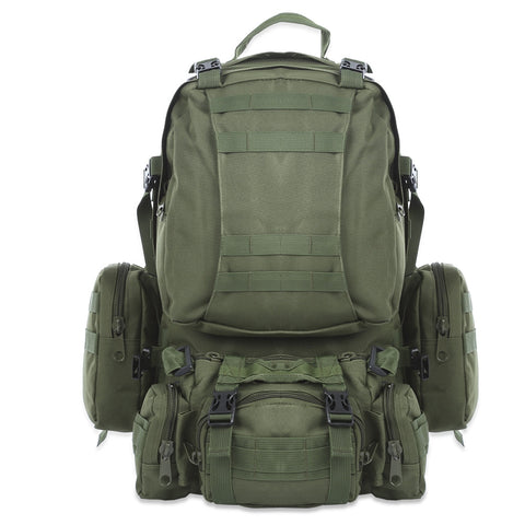 50L Tactical Military Backpack,   - Found Lost Outdoors