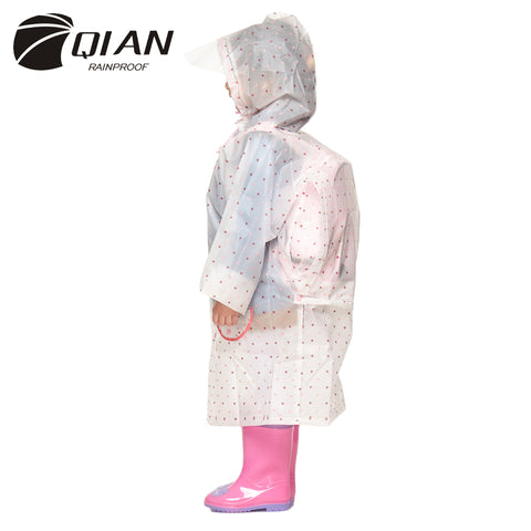 QIAN RAINPROOF Impermeable Children Raincoat,  Kids - Found Lost Outdoors