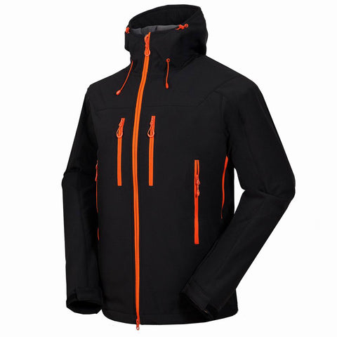 Men's Reflection XV Winter Softshell Hiking Hoodie Jacket,   - Found Lost Outdoors