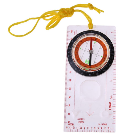 Map Compasses for Hiking with Magnifier,  Accessories - Found Lost Outdoors