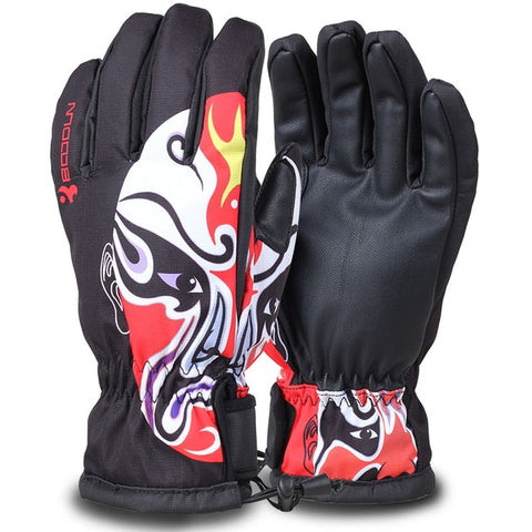 Waterproof Windproof Professional Ski Gloves