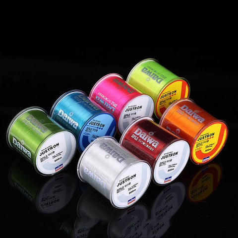 500m Nylon Monofilament Rock Sea Fishing Line | Bulk Spool All Size 4 Colors 0.4 to 8.0,   - Found Lost Outdoors