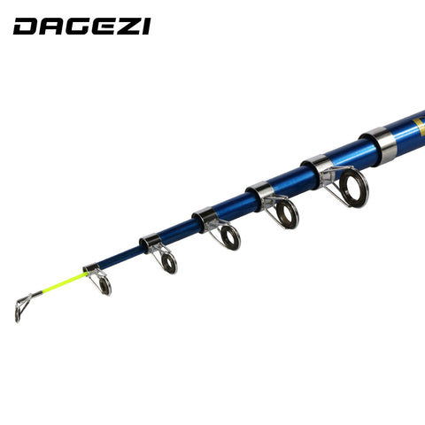 DAGEZI | Carbon Fiber Telescopic Fishing Rod,   - Found Lost Outdoors