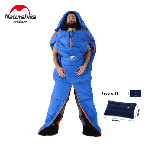 Naturehike Humanoid Sleeping Bag,   - Found Lost Outdoors