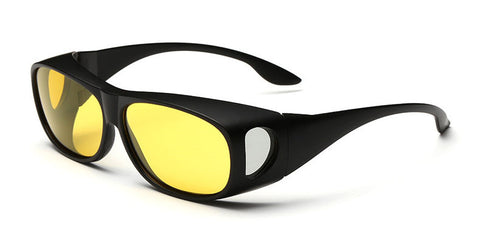 Polarized - Male Retro Night Vision Driving Sunglasses,  Eyewear - Found Lost Outdoors