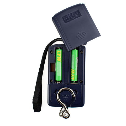 Digital Scale for Fishing or Luggage | 40kg x 10g,  Accessories - Found Lost Outdoors