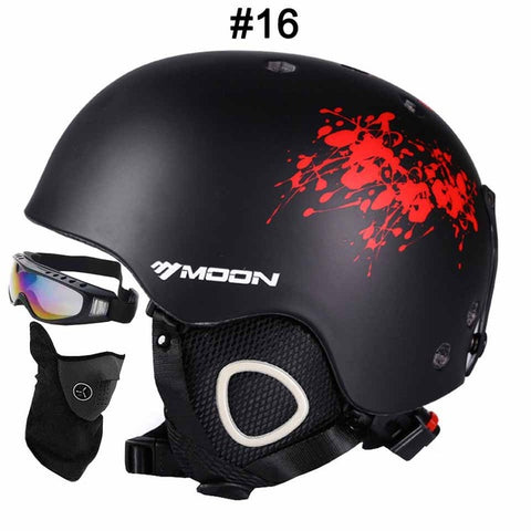 MOON Breathable Ski Snowboard Helmet | Ultralight CE Certification,   - Found Lost Outdoors