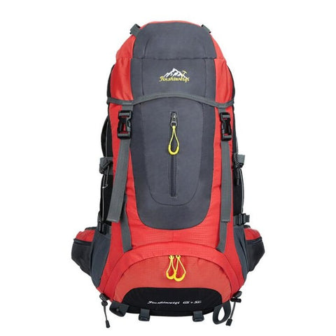 High Quality 70L  Mountaineering Waterproof Backpack,   - Found Lost Outdoors