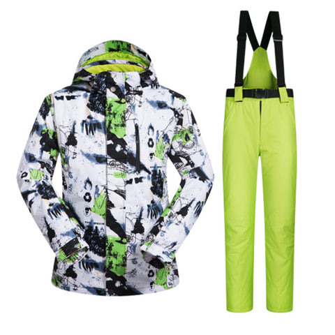 Men's Ski Suit | Windproof and Waterproof Thermal,   - Found Lost Outdoors