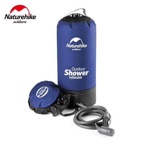 11L Outdoor Inflatable Portable Shower Bag,  Shower Bag - Found Lost Outdoors
