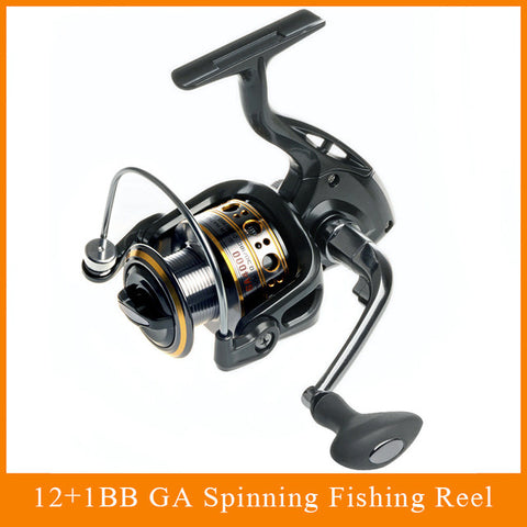 12+1 Bearing Balls Spinning Fishing Reel,  Fishing - Found Lost Outdoors