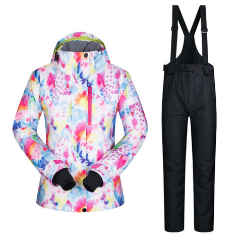 Women's Ski Snowboard Suit | Jacket and Pants,   - Found Lost Outdoors