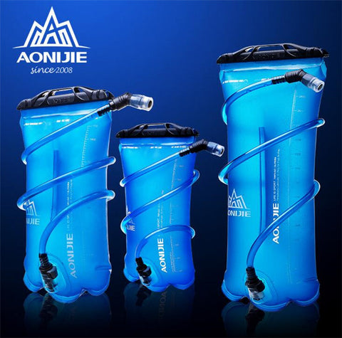 AONIJIE 1.5L/2L/3L TPU Water Bladder for Camping Hiking Climbing,   - Found Lost Outdoors