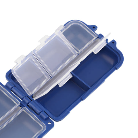 Fishing Tackle Box with 10 Compartments,   - Found Lost Outdoors
