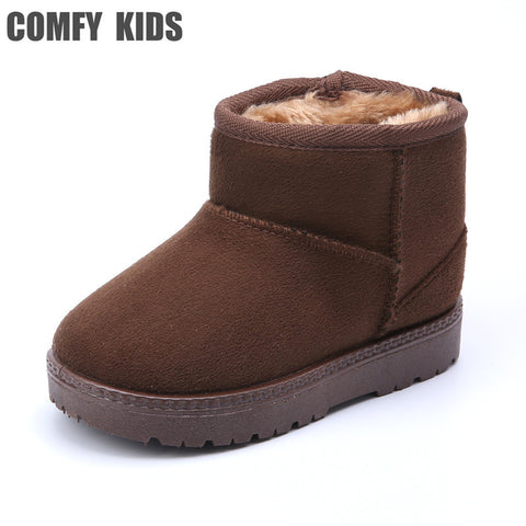 Kids Snow Boots with Thick Sole | Sizes 5.5 - 1,  kids shoes - Found Lost Outdoors