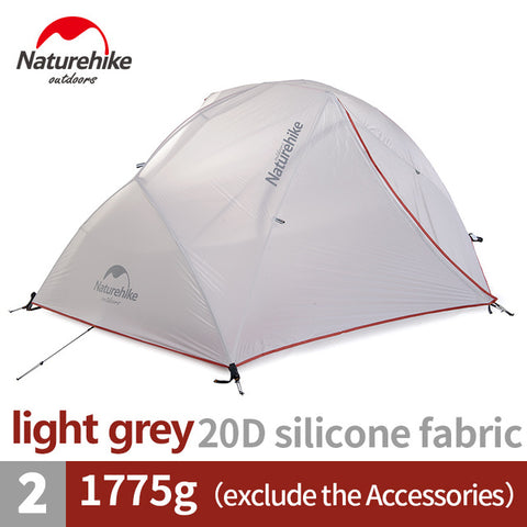 Naturehike Ultralight 2 Person 4 Season Star River Camping Tent With Free Mat NH17T012-T,   - Found Lost Outdoors