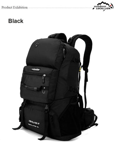 LOCAL LION 60L Tactical Molle Military Backpack,   - Found Lost Outdoors