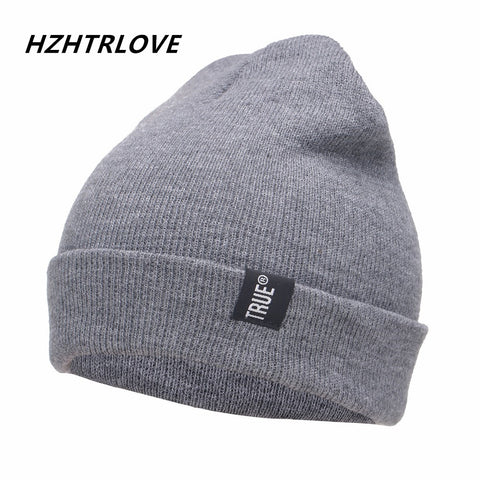 Letter True Unisex  Knitted Casual Beanies