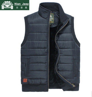 Men's Army Green Fleece Vest,   - Found Lost Outdoors