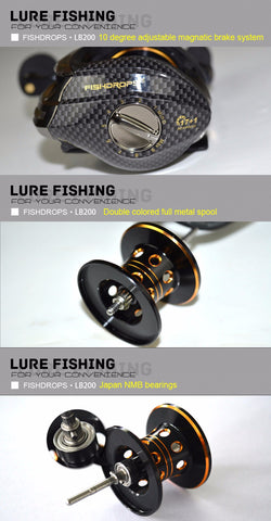 Fishdrops LB200 Fishing Reel,  Fishing - Found Lost Outdoors