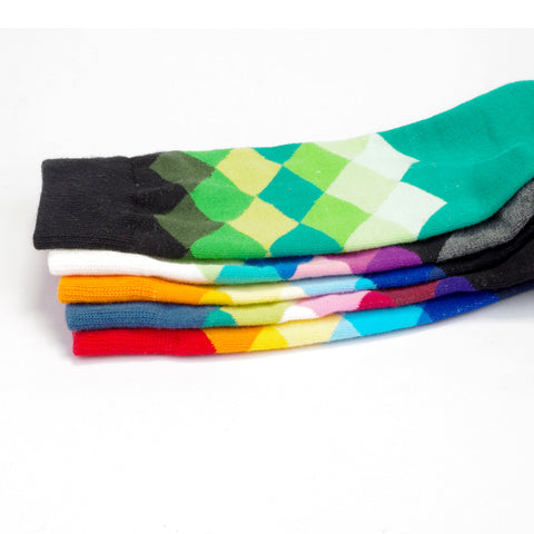 Bright Colored High-Ankle Sport Socks,   - Found Lost Outdoors