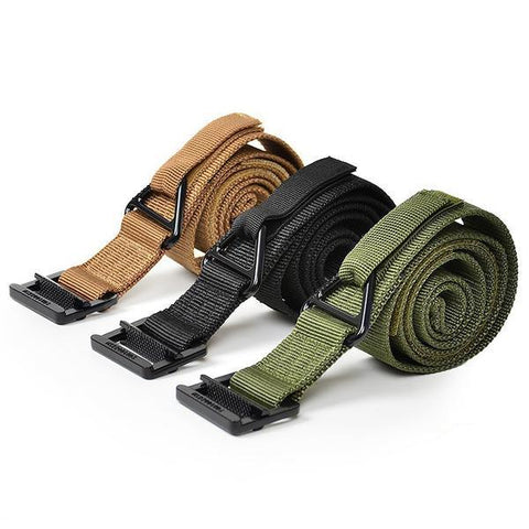 Military Combat Nylon Tactical Belt with Hook & Loop,  Accessories - Found Lost Outdoors