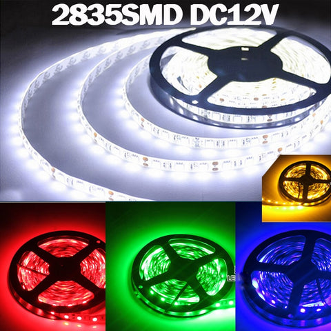 1m 2m 3m 4m 5m 0.5m 2835 SMD 60 Led Strip Light,   - Found Lost Outdoors
