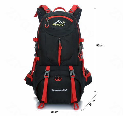 """The Medicine Bow"" 50L Hiking Backpack,   - Found Lost Outdoors"