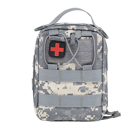 First Aid Military Style Wilderness Kit Pouch,   - Found Lost Outdoors