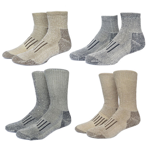 Thin Merino Wool Odor Prevention Socks,   - Found Lost Outdoors