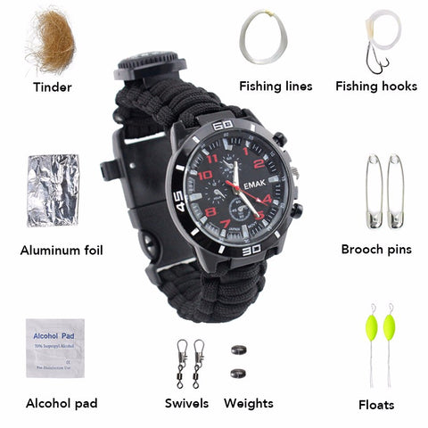 Multi-functional Fishing Watch,   - Found Lost Outdoors