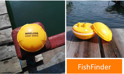 Wireless Sonar Fish Finder | iOS and Android Compatible App,   - Found Lost Outdoors