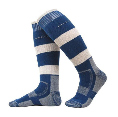Thermal Merino Wool Tube Socks for Snowboarding, Skiing, Hiking