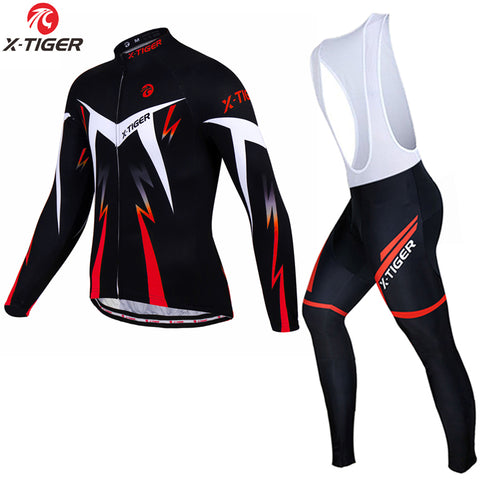 X-TIGER - Thermal Fleece Winter Cycling Set,   - Found Lost Outdoors