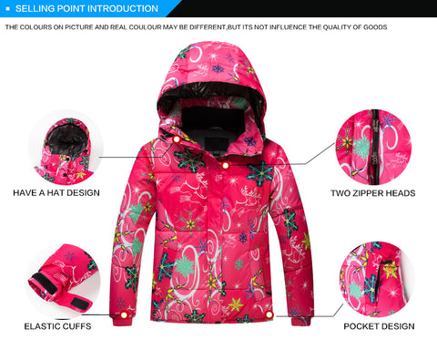 Kids Windproof and Waterproof Colorful Ski Set,  Kids - Found Lost Outdoors