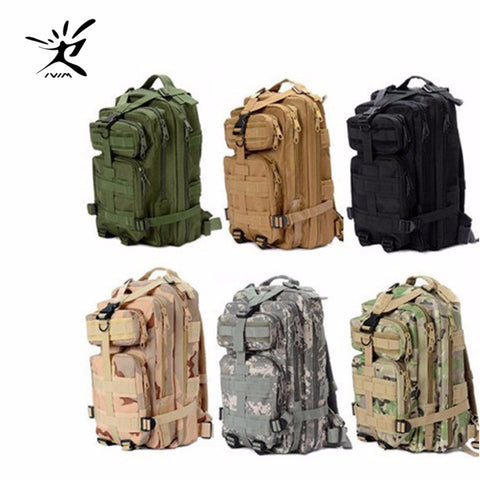 1000D Nylon Waterproof Outdoor Military Tactical Backpack,   - Found Lost Outdoors