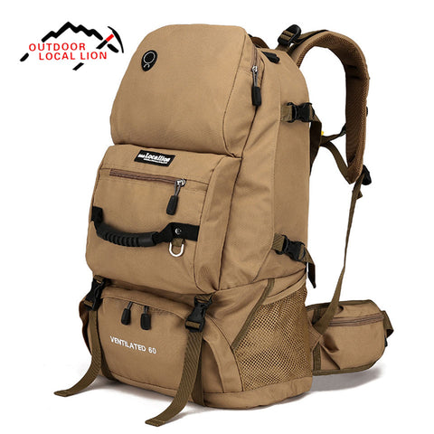 LOCAL LION 60L Tactical Molle Military Backpack