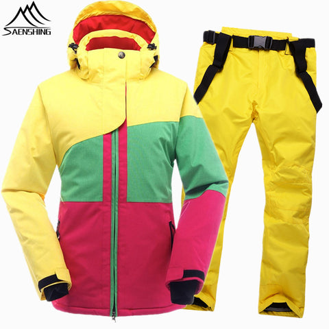 Women's Shining Winter Ski Suit,   - Found Lost Outdoors