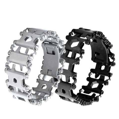 EDC Multi Functional Outdoor Utility Bracelet,   - Found Lost Outdoors