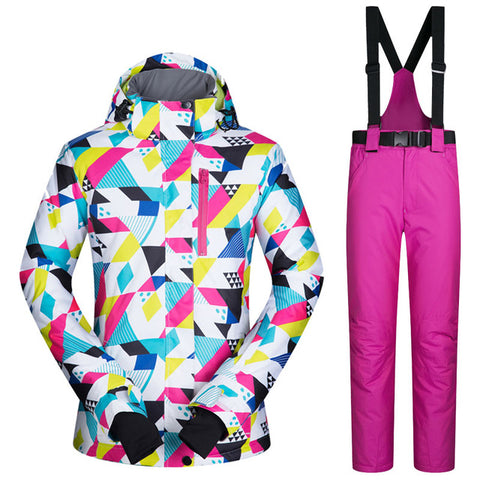 Women's Ski Snowboard Suit | Windproof Waterproof,   - Found Lost Outdoors