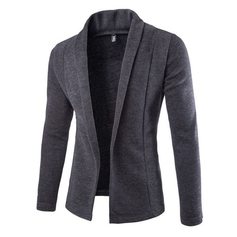 Cardigan for Winter - Men Long Sleeve Sweater,  Winter Men - Found Lost Outdoors