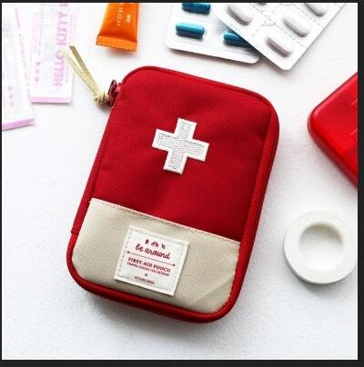 Portable Outdoor Camping First Aid Emergency Medical Kit,  Survival - Found Lost Outdoors
