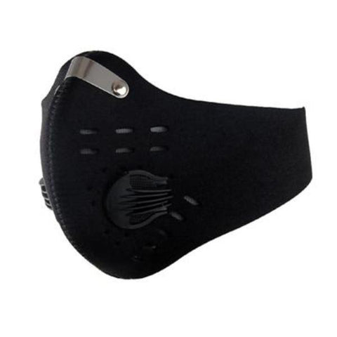 Activated Carbon Filter Sports Face Mask,   - Found Lost Outdoors