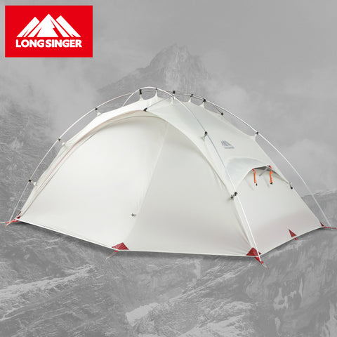 Longsinger G6 Silicon Ultralight Double Deck Outdoor Camping Tent,   - Found Lost Outdoors