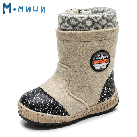Kid's Wool Felt Winter Boots,  kids shoes - Found Lost Outdoors