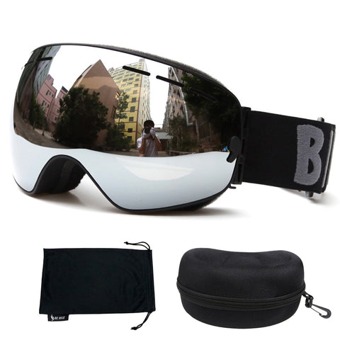 Boxed HD Ski goggles Double Anti-fog Snow Snowboard Glasses UV400