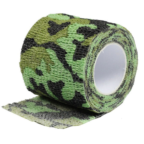 CS Force 5cmx4.5m Self Adhesive Waterproof Camo Tape,   - Found Lost Outdoors